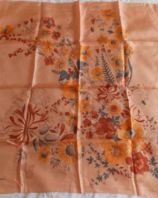 foulard soie vintage