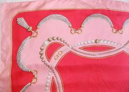 foulard vintage Must de Cartier rose