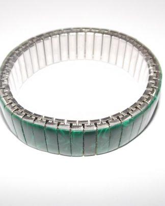 bracelet vintage malachite