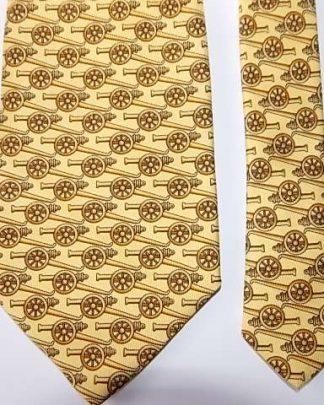 cravate vintage en soie