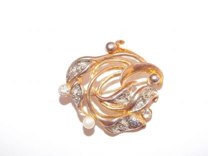 broche vintage Movitex