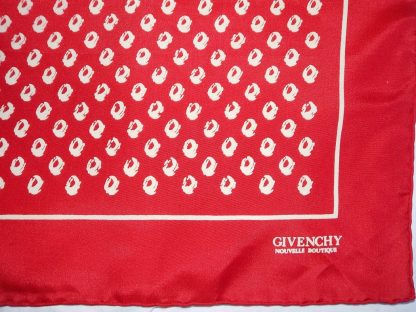 foulard vintage Givenchy boutique