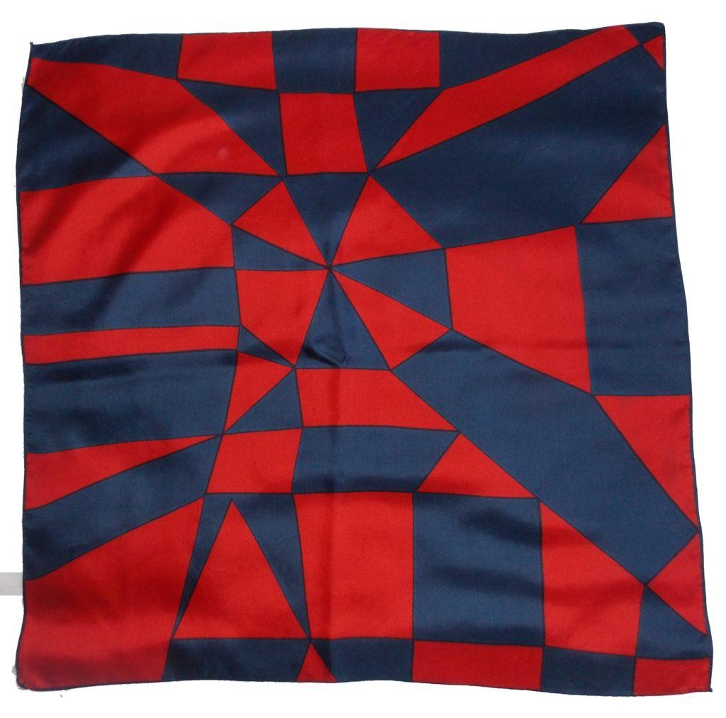 foulard vintage en soie