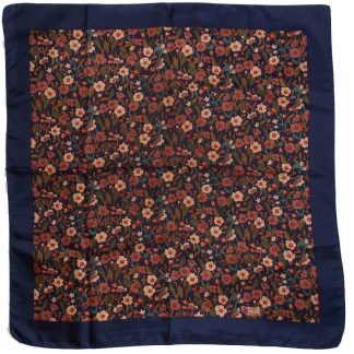 foulard vintage en soie Liberty of London