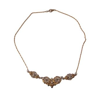 collier vintage filigrane