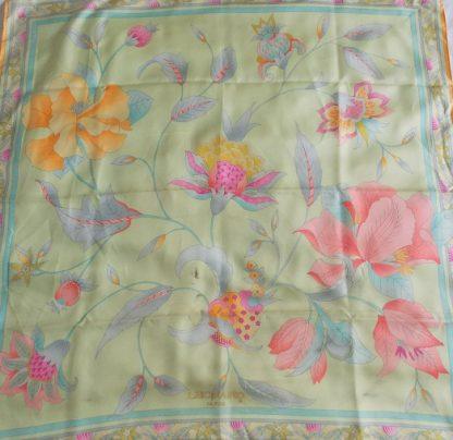 foulard vintage Léonard Paris