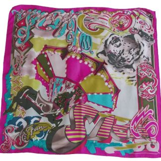 foulard vintage Christian Lacroix It's fun