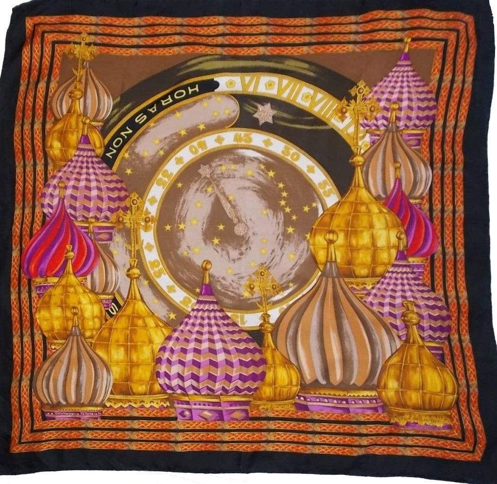 foulard Cartier Horas