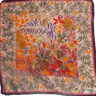 foulard vintage Madeleine de Rauch