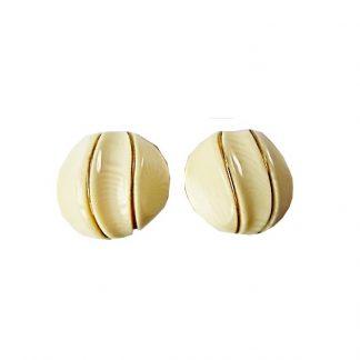 boucles d'oreilles clip bakélite