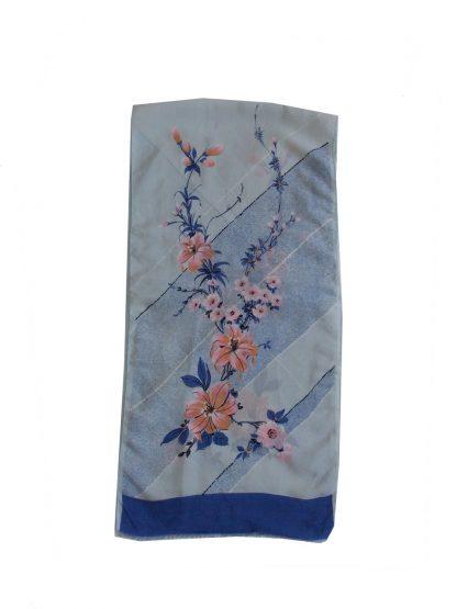 écharpe en soie vintage