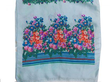 foulard écharpe soie vintage