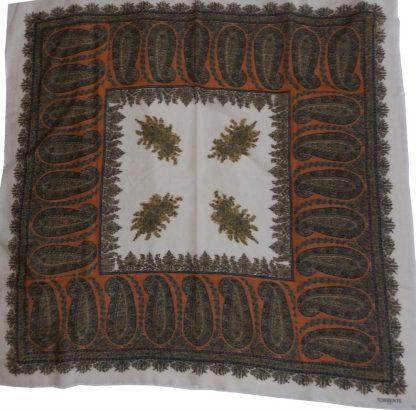 étole vintage en laine Torrente
